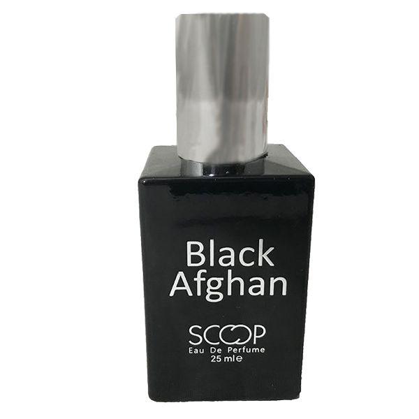 عطر جیبی مردانه اسکوپ مدل Black Afghan حجم 25 میلیلیتر
