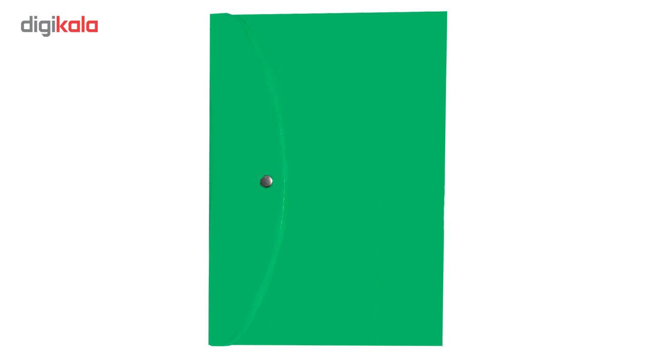 پوشه دکمه دار کد 108سایز A4 بسته 10عددی