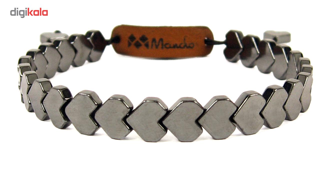 دستبند حدید مانچو مدل bf727 سایز freesize