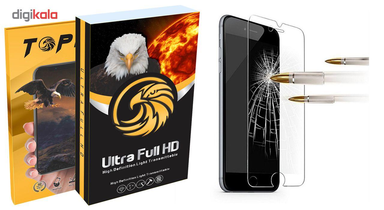 محافظ صفحه نمایش تاپیکس مدل Ultra Full HD مناسب برای اپل 6/6s Plus main 1 4