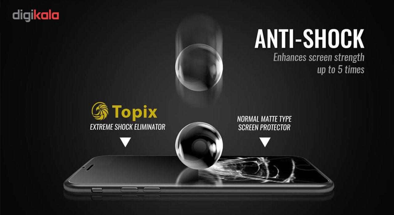محافظ صفحه نمایش تاپیکس مدل Ultra Full HD مناسب برای اپل 6/6s Plus main 1 6