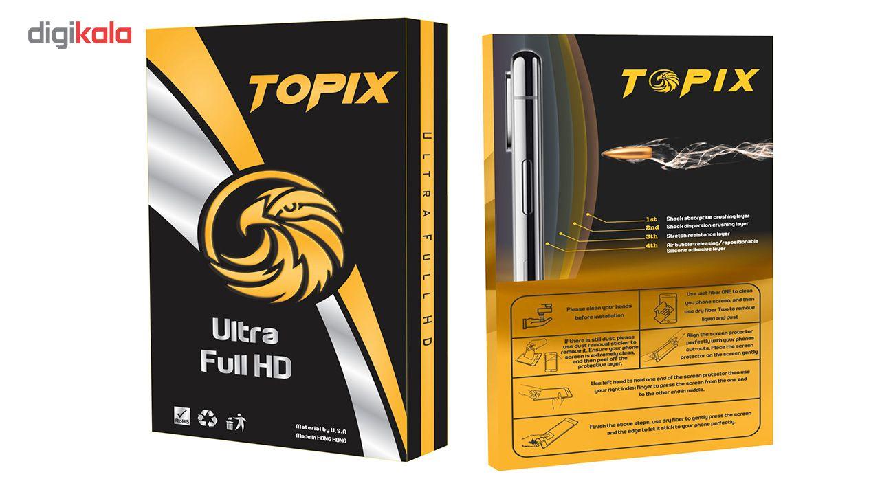 محافظ صفحه نمایش تاپیکس مدل Ultra Full HD مناسب برای اپل 6/6s Plus main 1 7