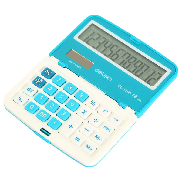ماشین حساب تاشوی دلی مدل DL-1109