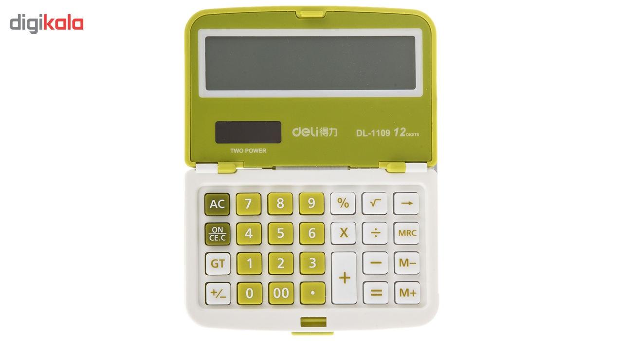 قیمت                      ماشین حساب تاشوی دلی مدل DL-1109