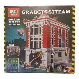 ساختنی لپین سری Ghost Busters مدل Firehouse Headquarters 16001