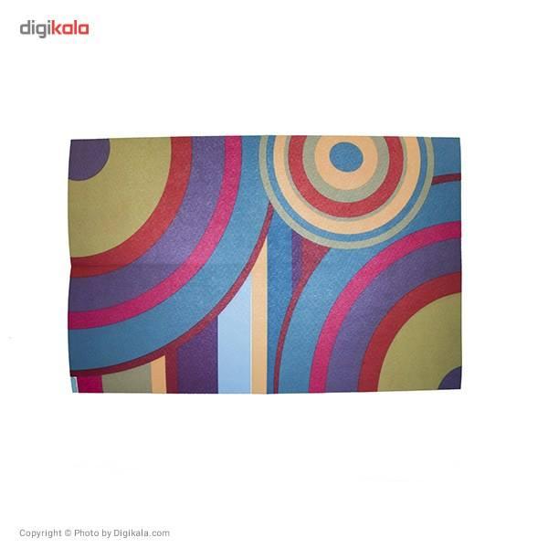 رطوبت گیر نمدی چاپی مهسان مدل دایره رنگی main 1 1
