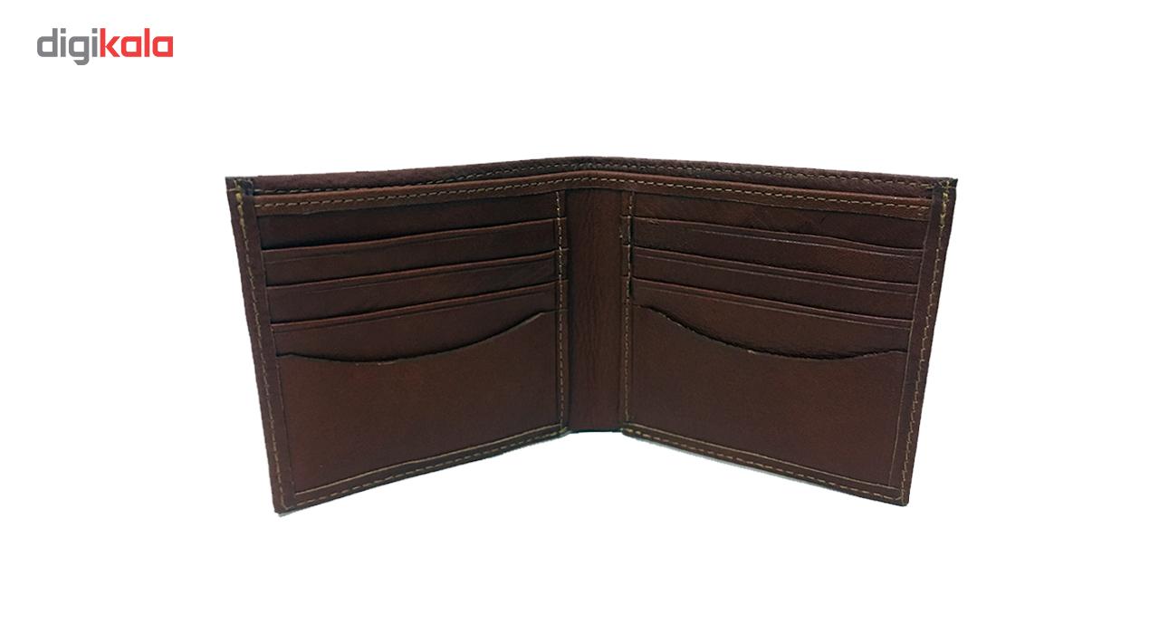 کیف پول چرم چرماهنگ مردانه کد W-S1M main 1 1