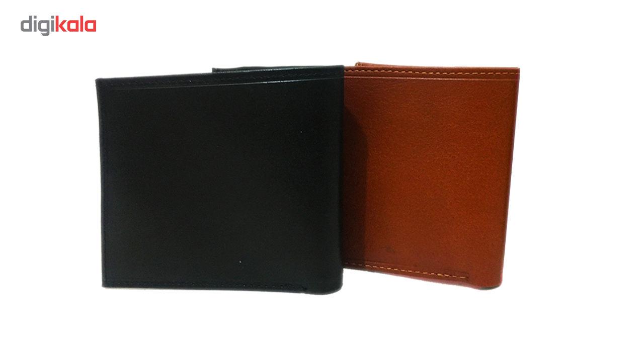 کیف پول چرم چرماهنگ مردانه کد W-S1M main 1 2