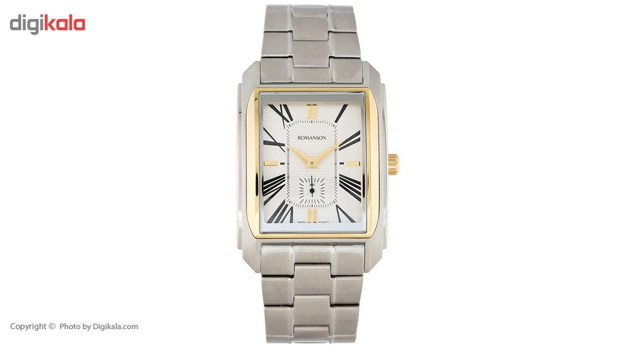 خرید ساعت مچی عقربه ای مردانه رومانسون مدل TM2629JM1CAS1G