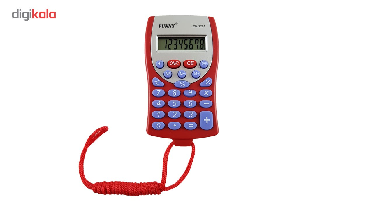 قیمت                      ماشین حساب جیبی فانی مدل 9201