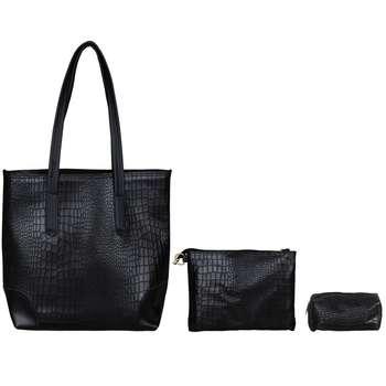 کیف دستی زنانه مدل KS-0017مجموعه 3 عددی