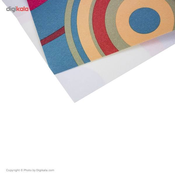 رطوبت گیر نمدی چاپی مهسان مدل دایره رنگی main 1 2