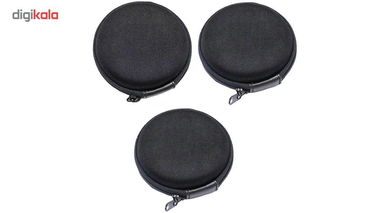 کیف هندزفری مدل Black بسته 3 عددی main 1 3