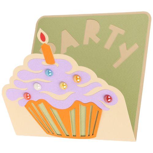 کارت دعوت دست ساز هدهد طرح PARTY کد P332