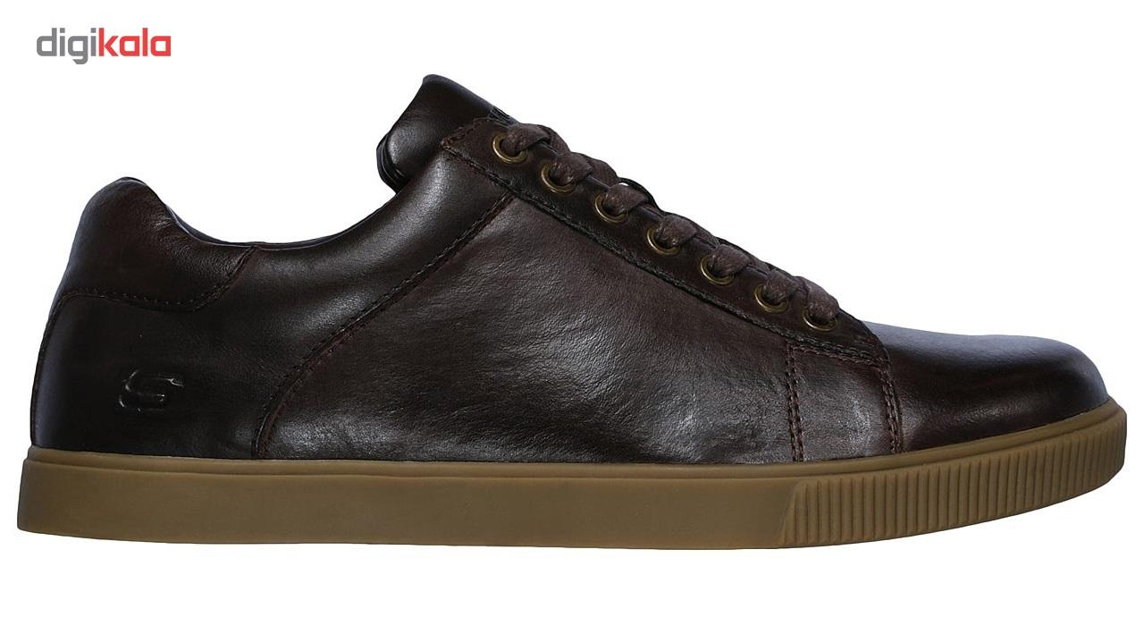 کفش مخصوص پیاده روی مردانه اسکچرز مدل  MIRACLE 65323CHOC