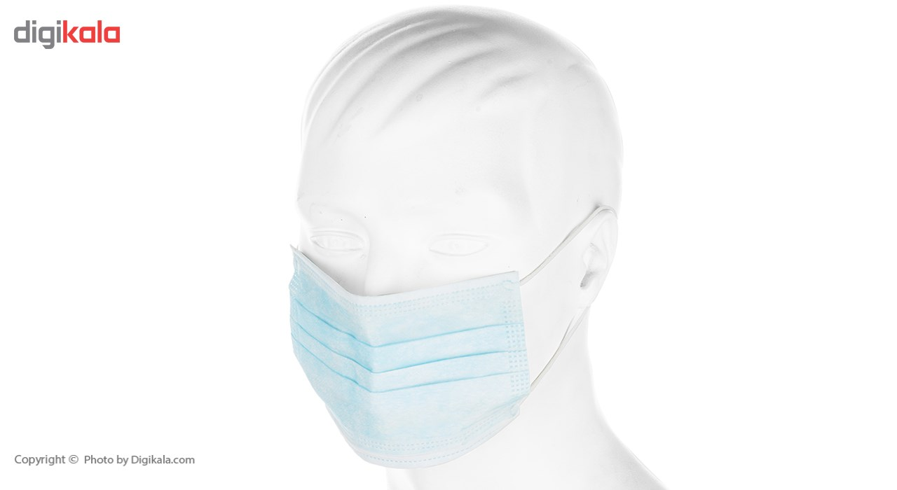 50 pcs Disposable protective face Mask 3 Ply Non woven pack