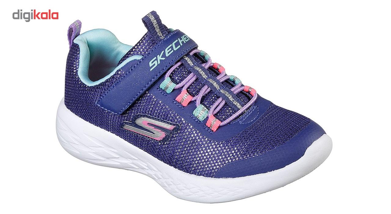کفش مخصوص پیاده روی بچه گانه اسکچرز مدل  MIRACLE 82008L-NVMT