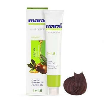 رنگ مو مارال سری نسکافه مدل قهوه ای نسکافه ای روشن شماره 5.85