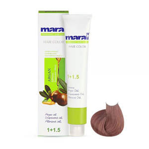 رنگ مو مارال سری نسکافه ای مدل بلوند نسکافه ای متوسط شماره 7.85
