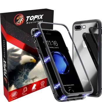 کاور آهنربایی تاپیکس مدل Super magnetic مناسب برای گوشی موبایل اپل آیفون 7plus / 8plus