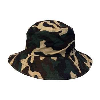 کلاه آفتابگیر کلاسیک طرح چریکی مدل 017