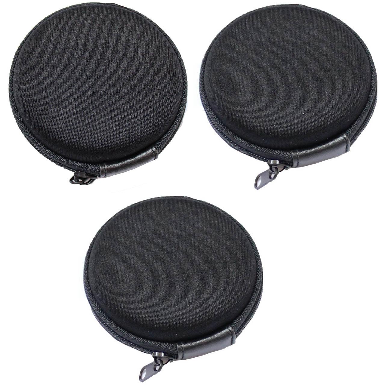 کیف هندزفری مدل Black بسته 3 عددی              ( قیمت و خرید)