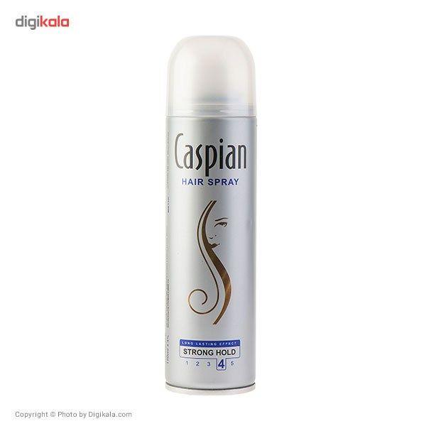 اسپری حالت دهنده مو Caspian مدل Hair Spray حجم 150 میلی لیتر  Caspian Hair Spray 150ml