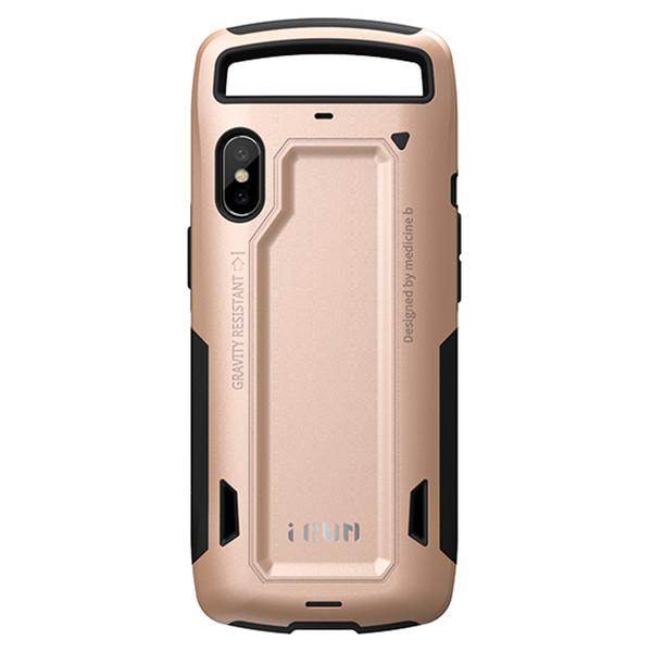 کاور گوشی آی ران مدل RUNNER PEACH GOLD مناسب برای گوشی iPhone10