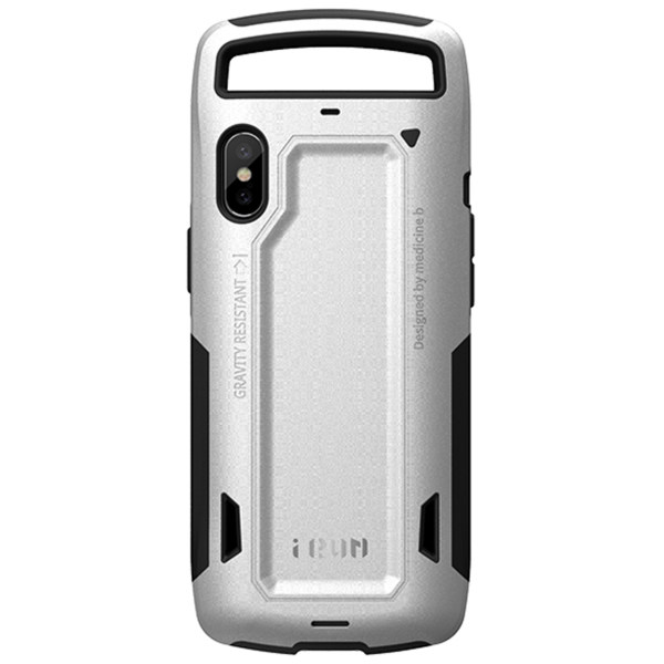 کاور گوشی آی ران مدل RUNNER Light Silver مناسب برای گوشی iPhone10
