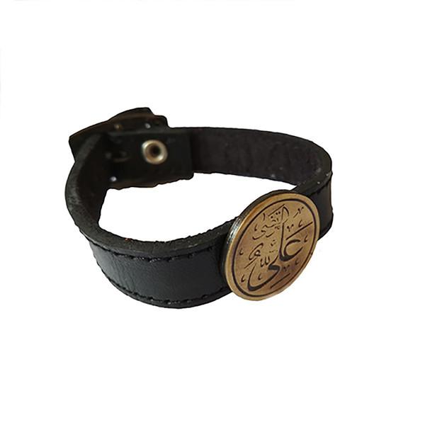 دستبند مردانه مدل مرتضی علی سایز L