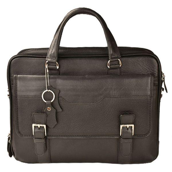 کیف اداری چرم طبیعی کهن چرم مدل L141