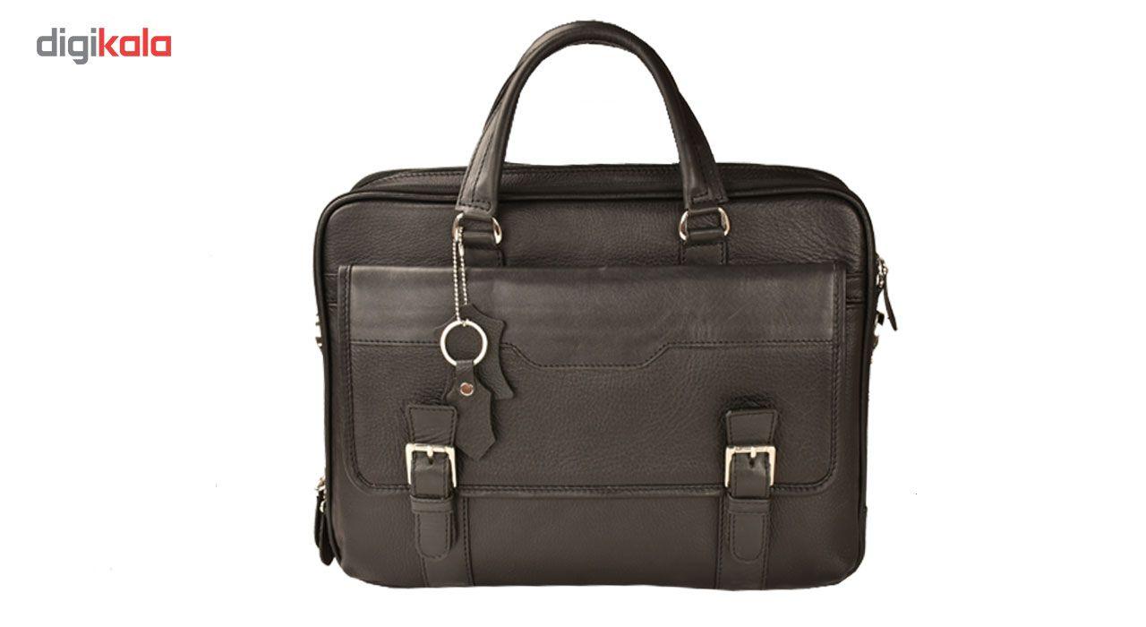 کیف اداری چرم طبیعی کهن چرم مدل L141 main 1 1
