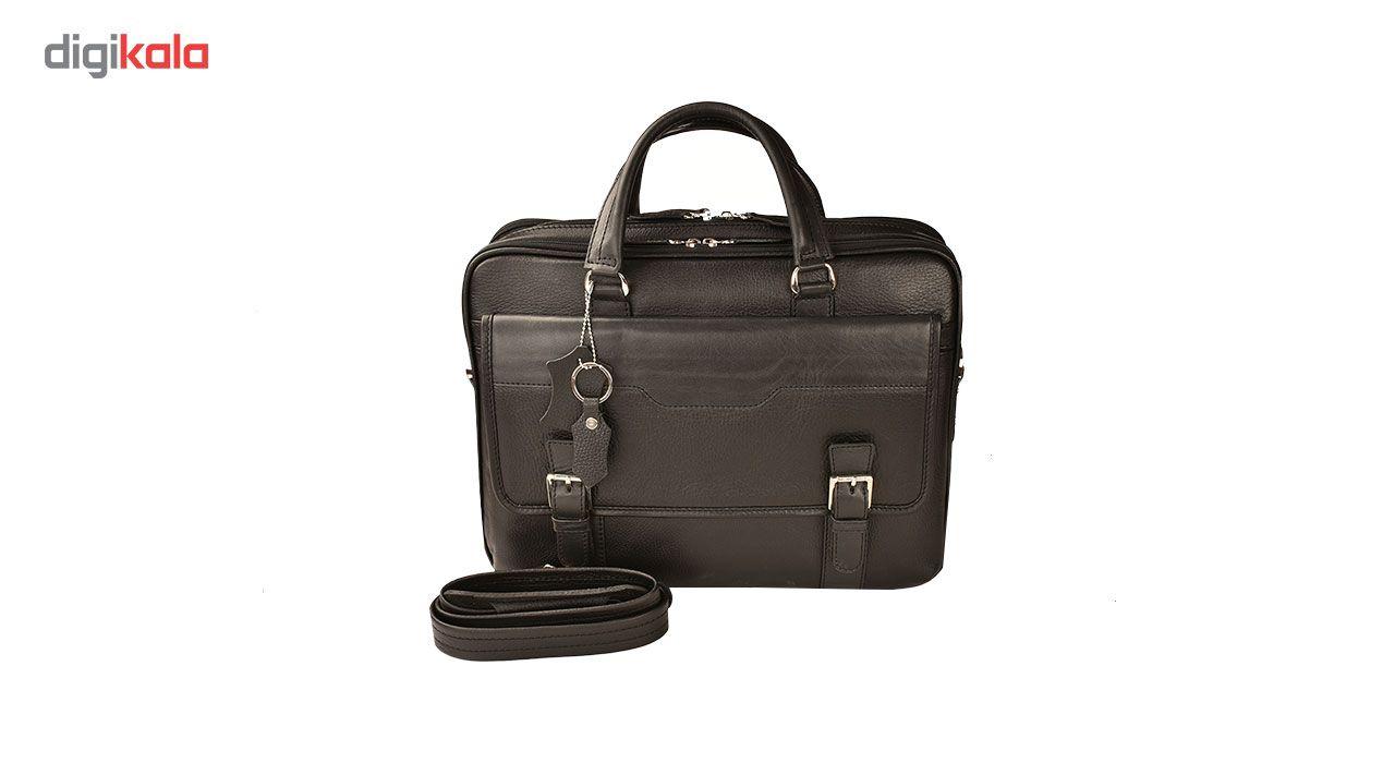 کیف اداری چرم طبیعی کهن چرم مدل L141 main 1 2