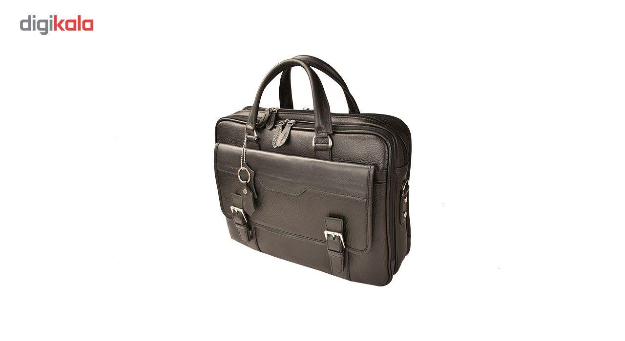 کیف اداری چرم طبیعی کهن چرم مدل L141 main 1 3