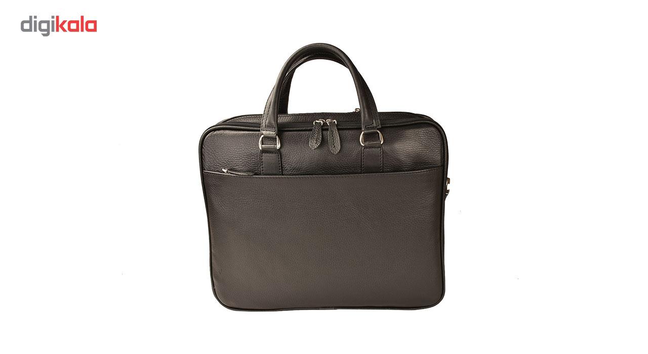 کیف اداری چرم طبیعی کهن چرم مدل L141 main 1 4