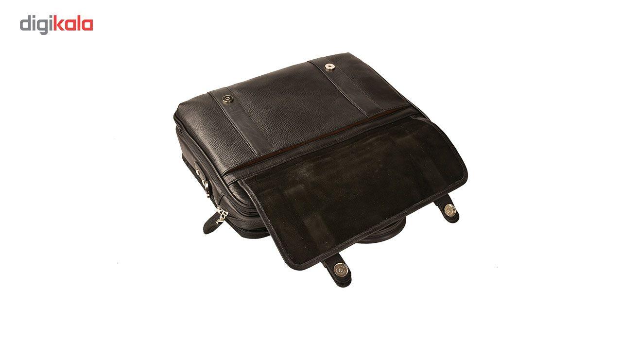 کیف اداری چرم طبیعی کهن چرم مدل L141 main 1 7