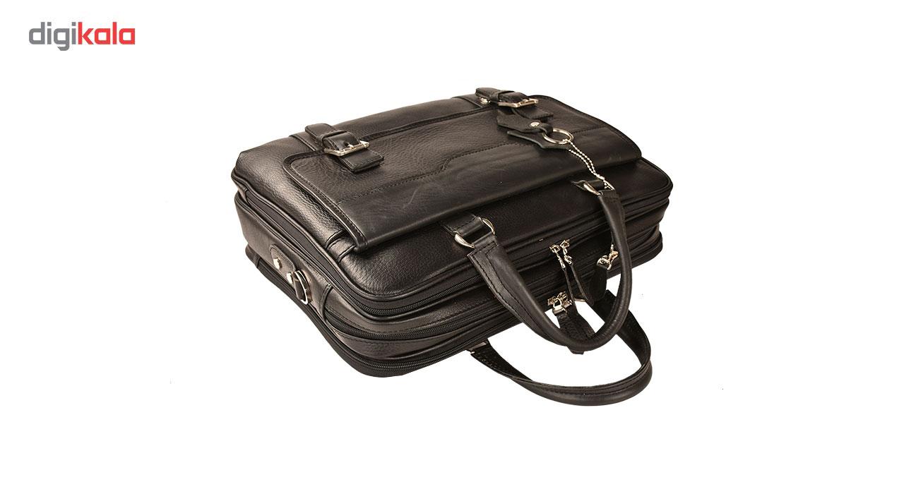 کیف اداری چرم طبیعی کهن چرم مدل L141 main 1 8