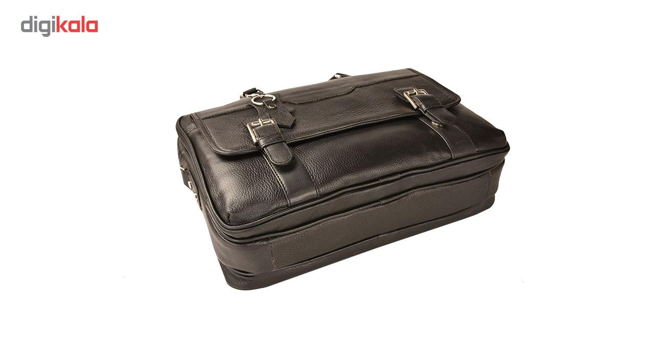 کیف اداری چرم طبیعی کهن چرم مدل L141 main 1 9