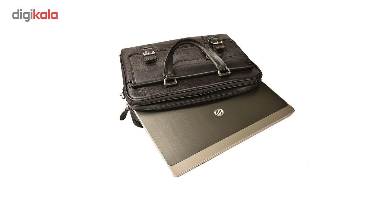 کیف اداری چرم طبیعی کهن چرم مدل L141 main 1 10