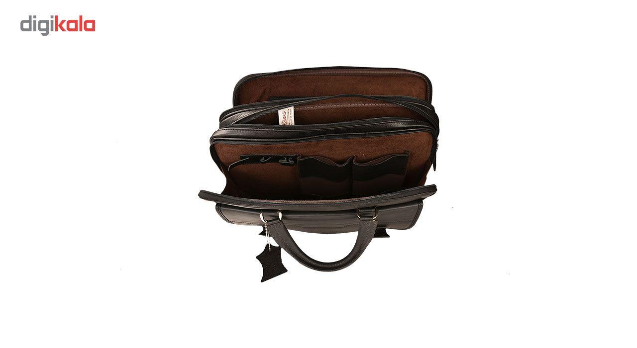 کیف اداری چرم طبیعی کهن چرم مدل L141 main 1 11