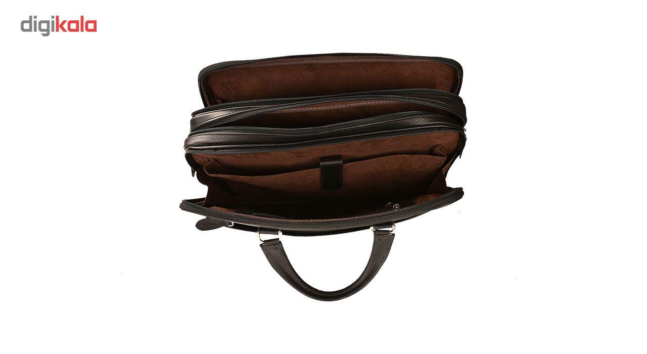 کیف اداری چرم طبیعی کهن چرم مدل L141 main 1 12