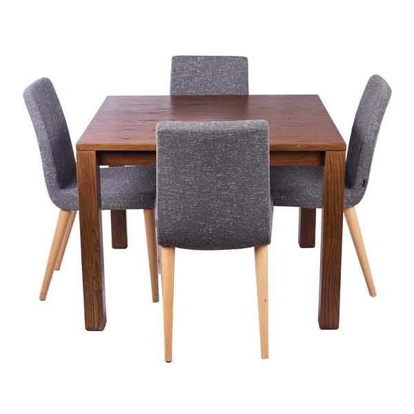 ست میز ناهار خوری و صندلی ایتال فوم مدل 001 چهار نفره