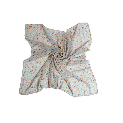 روسری حریر شمیم مدل 5061
