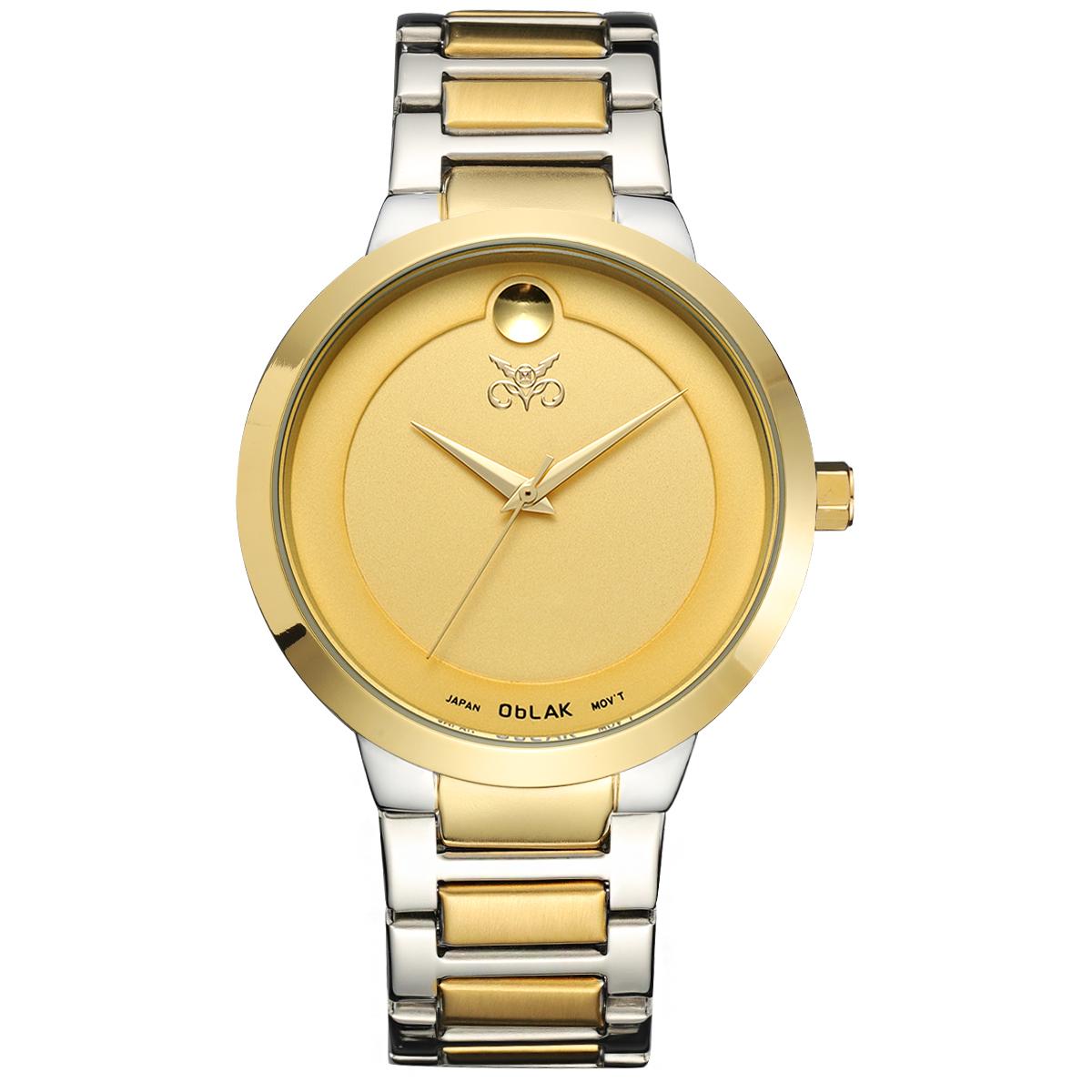 قیمت                      ساعت مچی عقربه ای مردانه اوبلاک مدل 72694