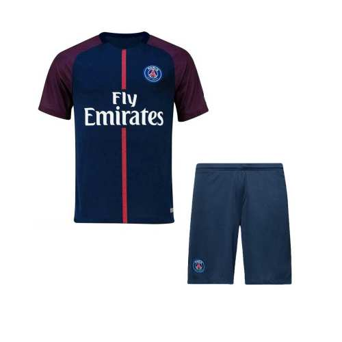تی شرت و شورت ورزشی طرح پاریس سنت ژرمن مدل Neymar-2018