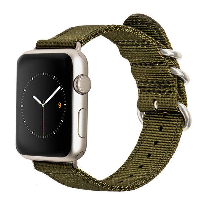 بند نایلونی مونوور مدل Nylon مناسب برای ساعت اپل واچ 42 میلیمتری