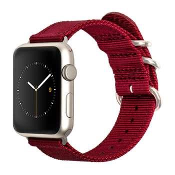 بند نایلونی مونوور مدل Nylon مناسب برای ساعت اپل واچ سایز 38 میلیمتری