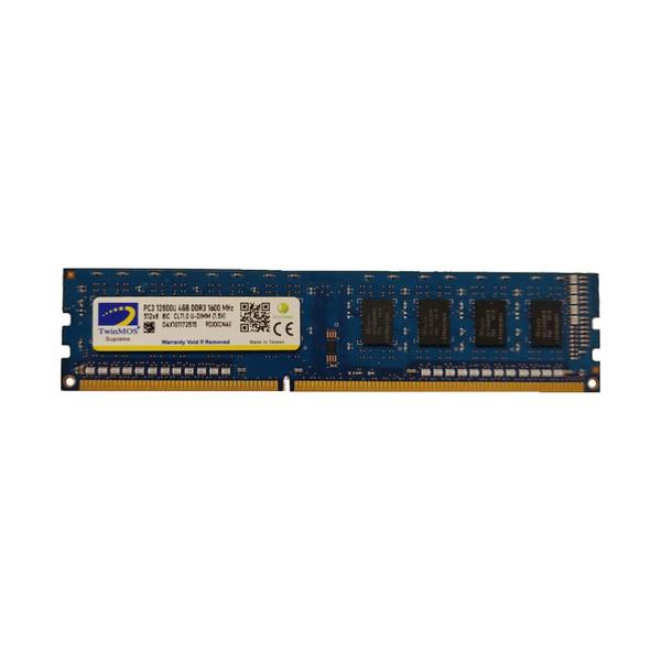 رم دسکتاپ DDR3 تک کاناله 1600 مگاهرتز CL11 تواینموس مدل 9DXXCN4E ظرفیت 4 گیگابایت