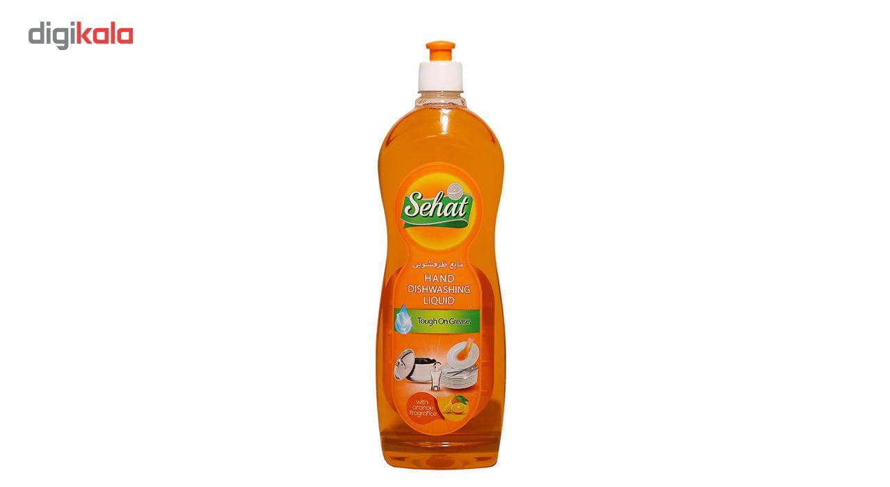 مایع ظرفشویی صحت مدل Orange مقدار 1000 گرم main 1 1