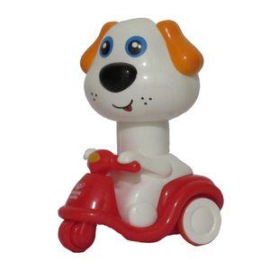 ماشین اسباب بازی مدل سگ موتور سوار